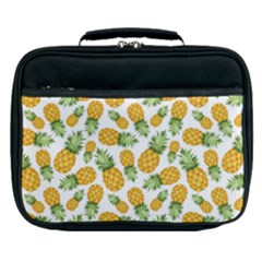 Pineapple Pattern Lunch Bag by goljakoff