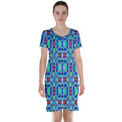Artwork By Patrick Colorful 26 Short Sleeve Nightdress