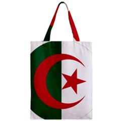 Roundel Of Algeria Air Force Zipper Classic Tote Bag by abbeyz71