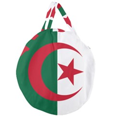 Roundel Of Algeria Air Force Giant Round Zipper Tote by abbeyz71