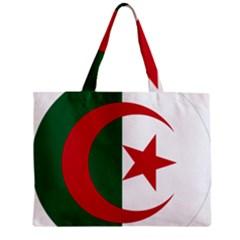 Roundel Of Algeria Air Force Zipper Mini Tote Bag by abbeyz71