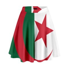 Roundel Of Algeria Air Force High Waist Skirt by abbeyz71