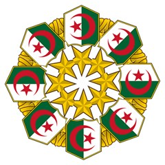 Badge Of The Algerian Air Force  Golf Umbrellas by abbeyz71