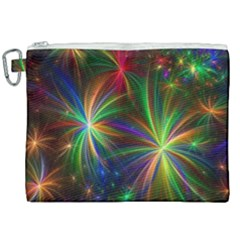 Colorful Firework Celebration Graphics Canvas Cosmetic Bag (xxl) by Sapixe