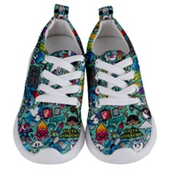 Comics Collage Kids  Lightweight Sports Shoes