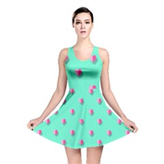 Love Heart Set Seamless Pattern Reversible Skater Dress