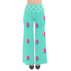 Love Heart Set Seamless Pattern So Vintage Palazzo Pants