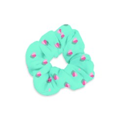 Love Heart Set Seamless Pattern Velvet Scrunchie