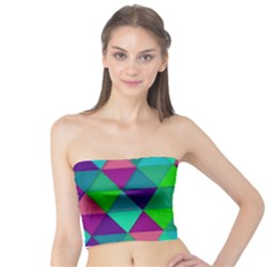 Background Geometric Triangle Tube Top