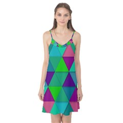 Background Geometric Triangle Camis Nightgown