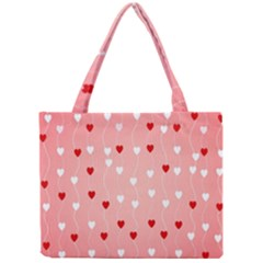 Heart Shape Background Love Mini Tote Bag