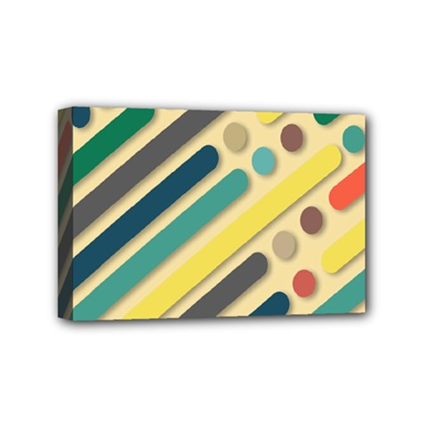 Background Vintage Desktop Color Mini Canvas 6  X 4