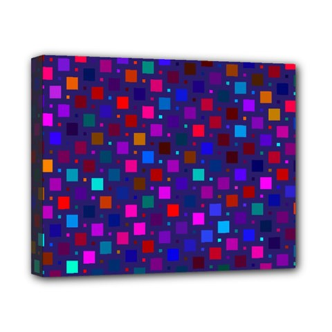 Squares Square Background Abstract Canvas 10  X 8