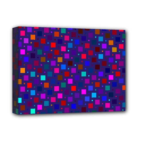 Squares Square Background Abstract Deluxe Canvas 16  X 12