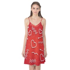 Background Valentine S Day Love Camis Nightgown