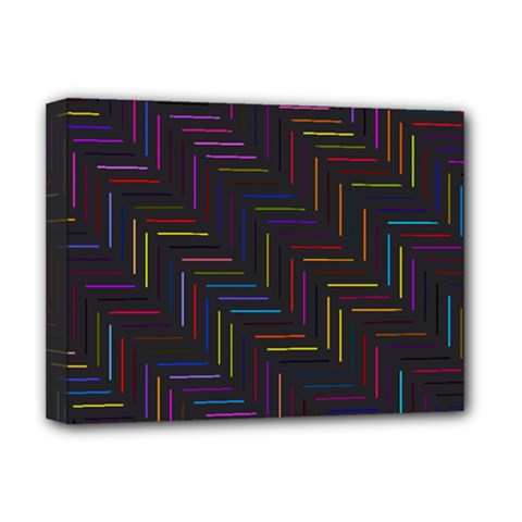 Lines Line Background Deluxe Canvas 16  X 12