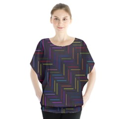 Lines Line Background Blouse