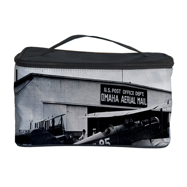 Omaha Airfield Airplain Hangar Cosmetic Storage Case