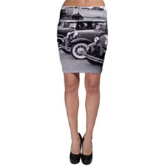 Vehicle Car Transportation Vintage Bodycon Skirt