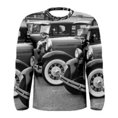 Vehicle Car Transportation Vintage Men s Long Sleeve Tee