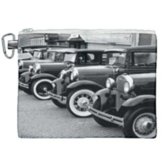 Vehicle Car Transportation Vintage Canvas Cosmetic Bag (xxl)