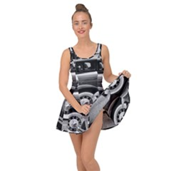 Vehicle Car Transportation Vintage Inside Out Dress