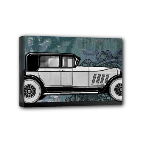 Vintage Car Automobile Auburn Mini Canvas 6  X 4