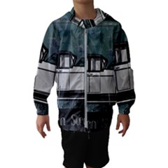 Vintage Car Automobile Auburn Hooded Wind Breaker (kids)