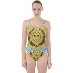 Seal Of The Argentine Army Cut Out Top Tankini Set