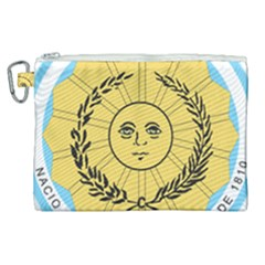 Seal Of The Argentine Army Canvas Cosmetic Bag (xl) by abbeyz71