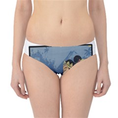 Java Indonesia Girl Headpiece Hipster Bikini Bottoms