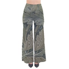 Vintage Background Green Leaves So Vintage Palazzo Pants