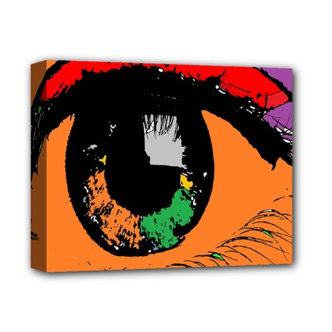 Eyes Makeup Human Drawing Color Deluxe Canvas 14  X 11
