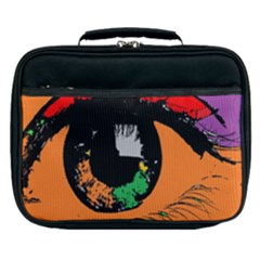 Eyes Makeup Human Drawing Color Lunch Bag