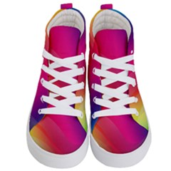 Background Wallpaper Design Texture Kid s Hi Top Skate Sneakers