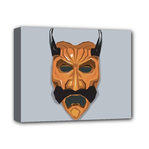 Mask India South Culture Deluxe Canvas 14  X 11
