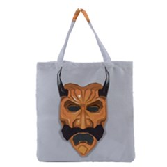 Mask India South Culture Grocery Tote Bag