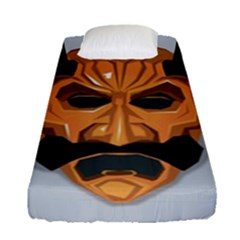 Mask India South Culture Fitted Sheet (single Size)
