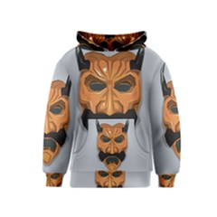 Mask India South Culture Kids  Pullover Hoodie