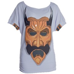 Mask India South Culture Women s Oversized Tee