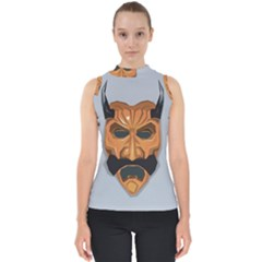 Mask India South Culture Shell Top