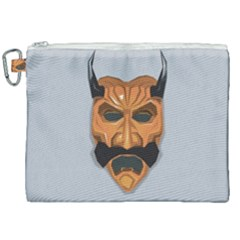 Mask India South Culture Canvas Cosmetic Bag (xxl)