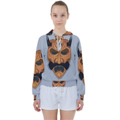 Mask India South Culture Women s Tie Up Sweat