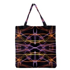 Wallpaper Abstract Art Light Grocery Tote Bag