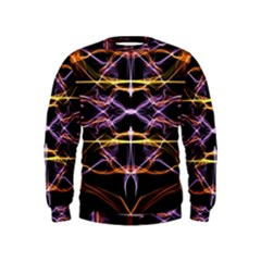 Wallpaper Abstract Art Light Kids  Sweatshirt