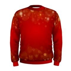 Background Abstract Christmas Men s Sweatshirt