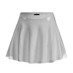 Ghost Halloween Spooky Horror Fear Mini Flare Skirt