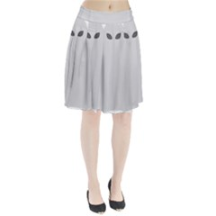 Ghost Halloween Spooky Horror Fear Pleated Skirt