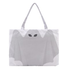 Ghost Halloween Spooky Horror Fear Medium Tote Bag