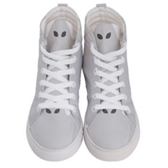 Ghost Halloween Spooky Horror Fear Men s Hi Top Skate Sneakers